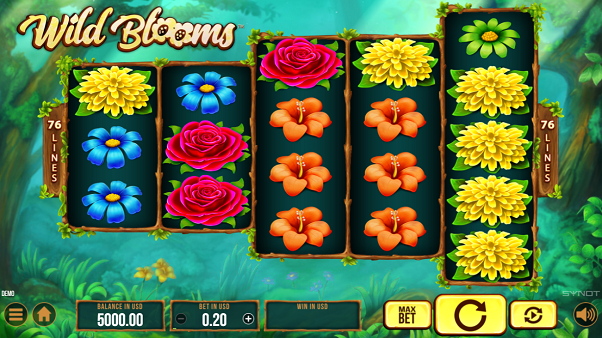 Wild Blooms from Synot Games